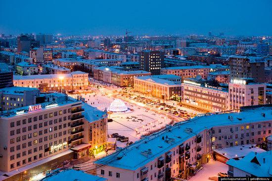 Yakutsk, Russia - the view from above, photo 8