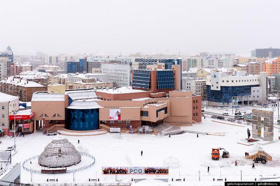 Yakutsk, Russia - the view from above, photo 9