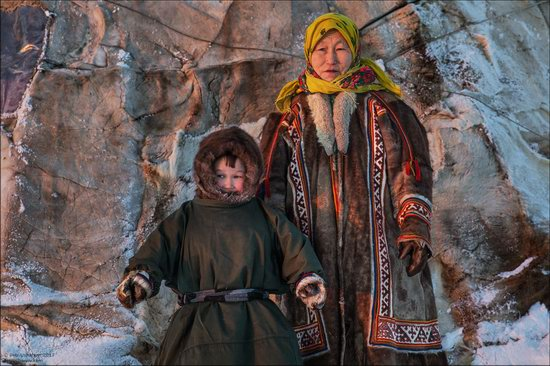 Life of the Nenets Reindeer Herders in the Russian North, photo 14
