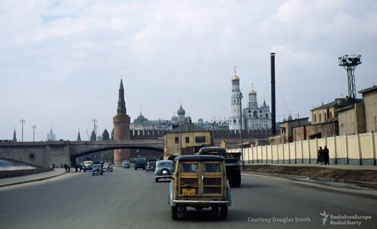 Stalin's Soviet Union - Moscow in 1953-1954, photo 1
