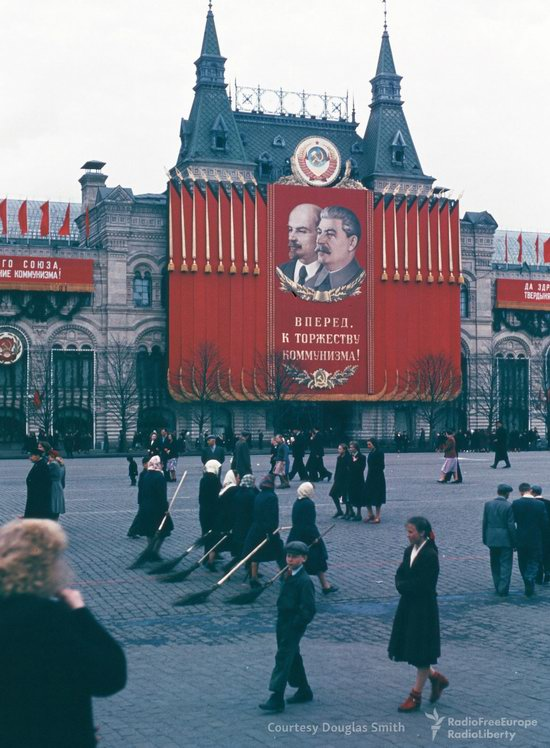 Stalin's Soviet Union - Moscow in 1953-1954, photo 12