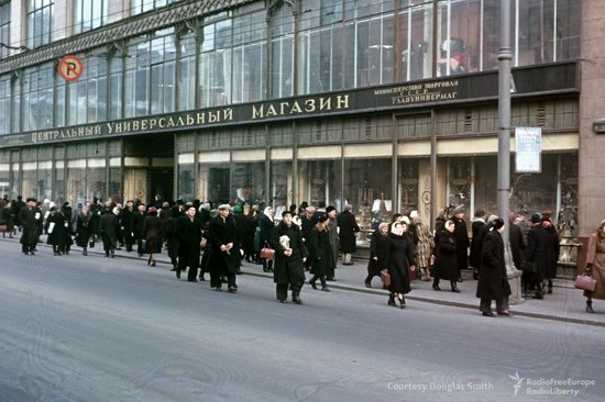 Stalin's Soviet Union - Moscow in 1953-1954, photo 26