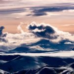 North of Kamchatka – view from above