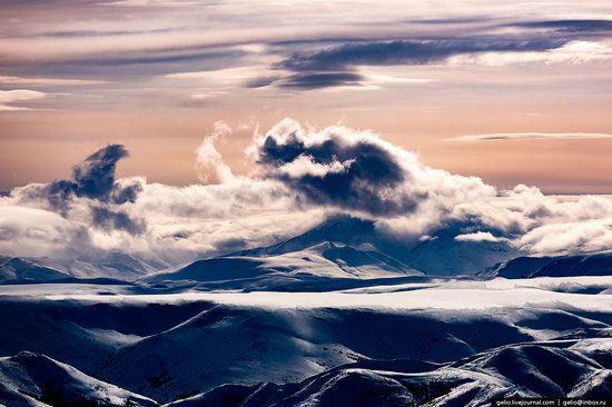 North of Kamchatka, Russia - the view from above, photo 1