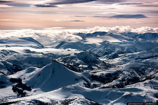 North of Kamchatka, Russia - the view from above, photo 11