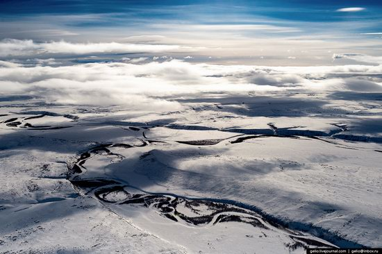 North of Kamchatka, Russia - the view from above, photo 12