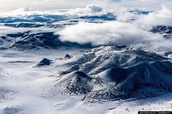 North of Kamchatka, Russia - the view from above, photo 14