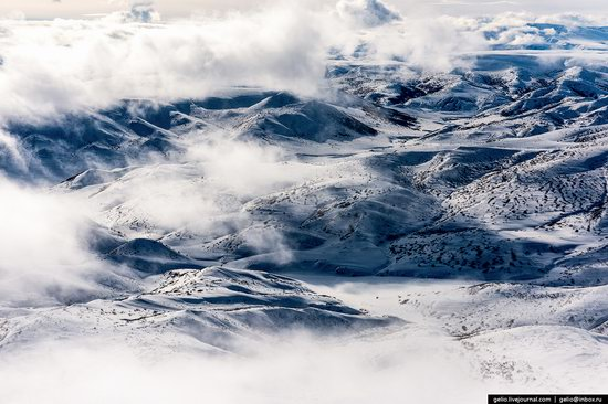 North of Kamchatka, Russia - the view from above, photo 16