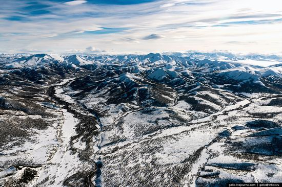 North of Kamchatka, Russia - the view from above, photo 17