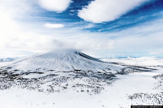 North of Kamchatka, Russia - the view from above, photo 22