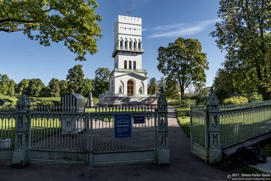 White Tower in Alexandrovsky Park, St. Petersburg, Russia, photo 8