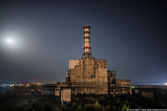 Abandoned nuclear power plant in Kursk, Russia, photo 1