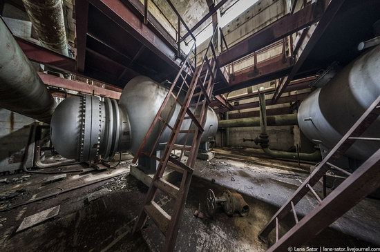 Abandoned nuclear power plant in Kursk, Russia, photo 14
