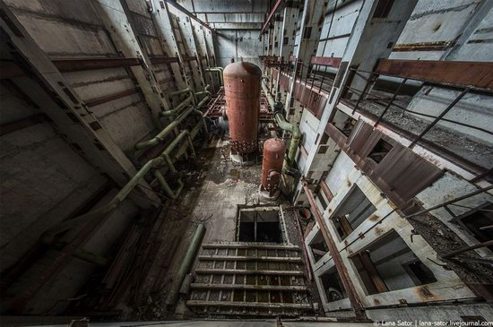 Abandoned nuclear power plant in Kursk, Russia, photo 15