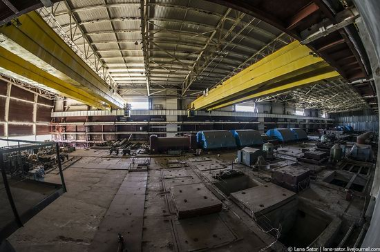 Abandoned nuclear power plant in Kursk, Russia, photo 16