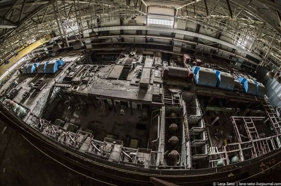Abandoned nuclear power plant in Kursk, Russia, photo 17