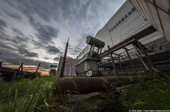 Abandoned nuclear power plant in Kursk, Russia, photo 2