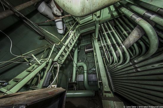 Abandoned nuclear power plant in Kursk, Russia, photo 24