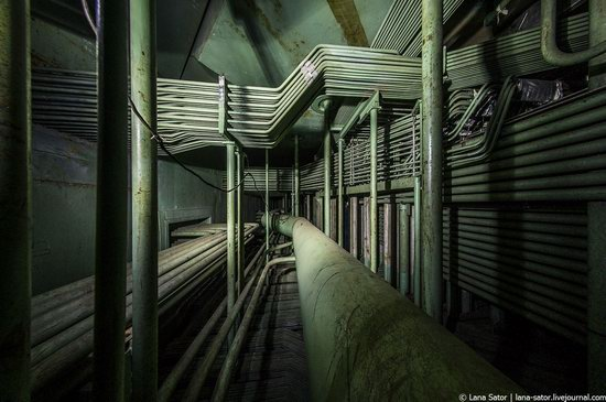 Abandoned nuclear power plant in Kursk, Russia, photo 25