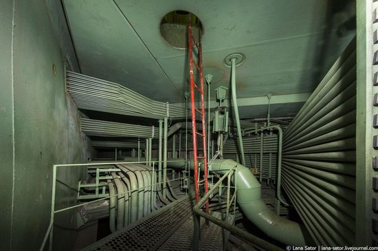 Abandoned nuclear power plant in Kursk, Russia, photo 27