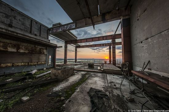 Abandoned nuclear power plant in Kursk, Russia, photo 3