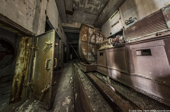 Abandoned nuclear power plant in Kursk, Russia, photo 9