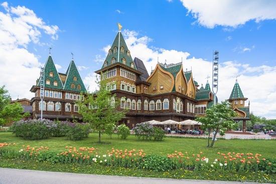 Palace of Tsar Alexey Mikhailovich in Kolomenskoye, Moscow, Russia, photo 1