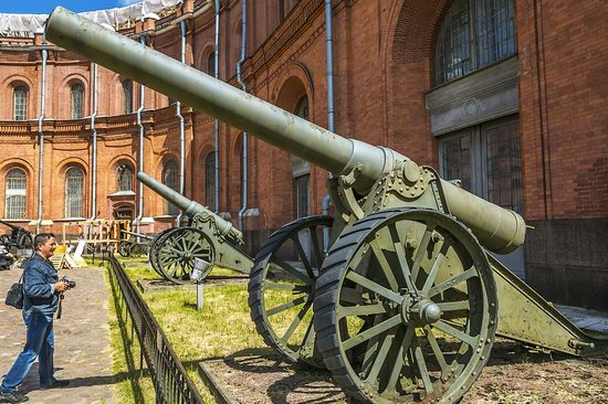 Museum of Artillery in St. Petersburg, Russia, photo 15