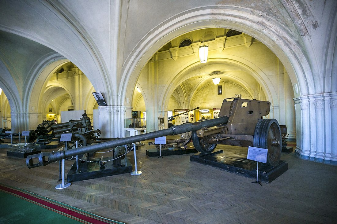Military Historical Museum Of Artillery In St Petersburg