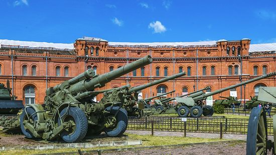 Museum of Artillery in St. Petersburg, Russia, photo 4