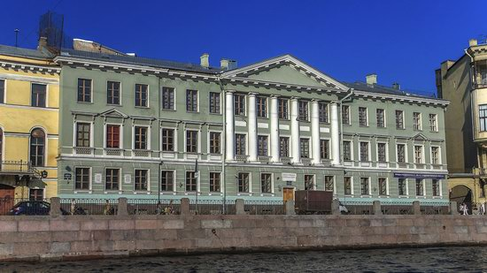 Boat trip along the canals of St. Petersburg, Russia, photo 13