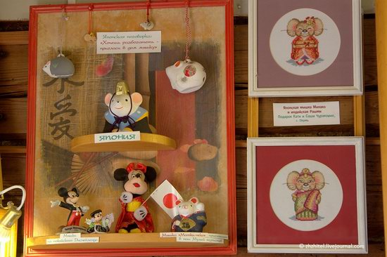 Mouse Museum in Myshkin, Russia, photo 13