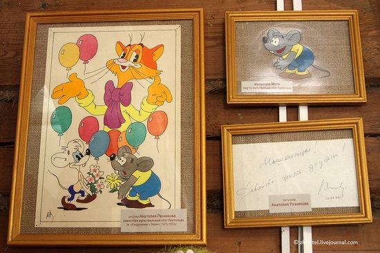 Mouse Museum in Myshkin, Russia, photo 17