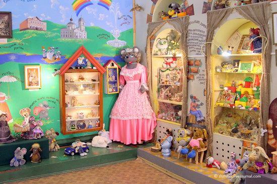 Mouse Museum in Myshkin, Russia, photo 3