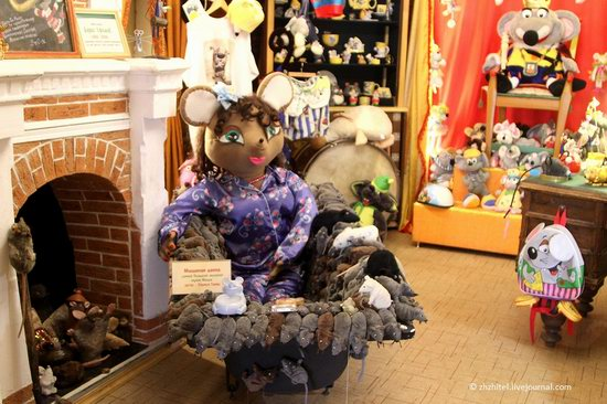 Mouse Museum in Myshkin, Russia, photo 5