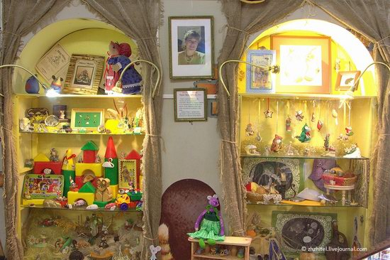 Mouse Museum in Myshkin, Russia, photo 7