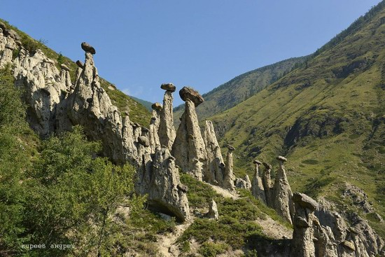 Stone mushrooms of Akkurum, Altai Republic, Russia, photo 1