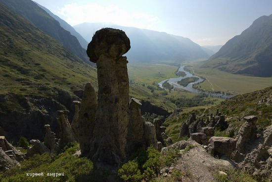 Stone mushrooms of Akkurum, Altai Republic, Russia, photo 12