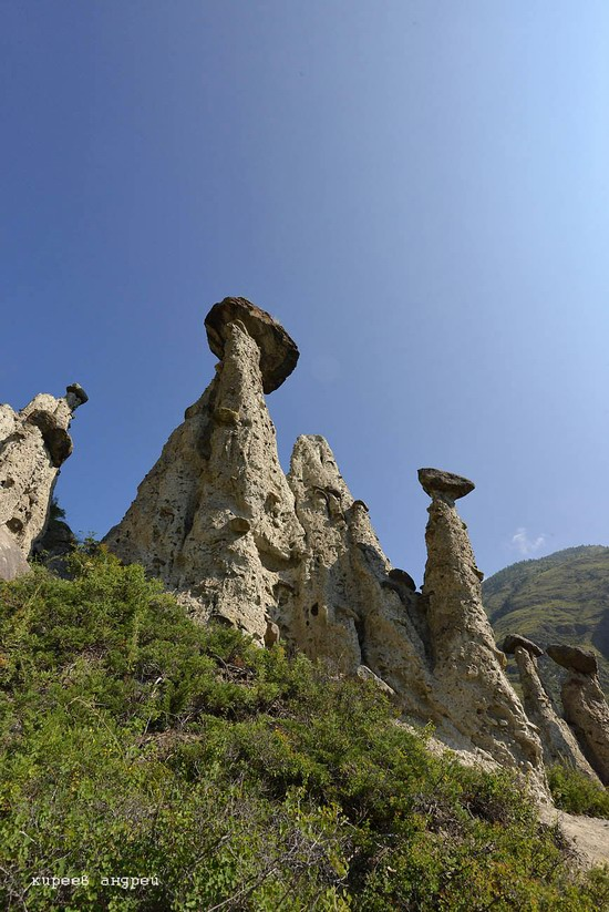 Stone mushrooms of Akkurum, Altai Republic, Russia, photo 2