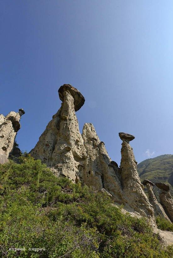 Stone mushrooms of Akkurum, Altai Republic, Russia, photo 2