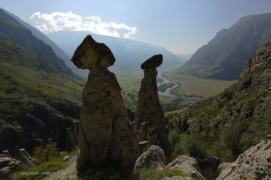 Stone mushrooms of Akkurum, Altai Republic, Russia, photo 4