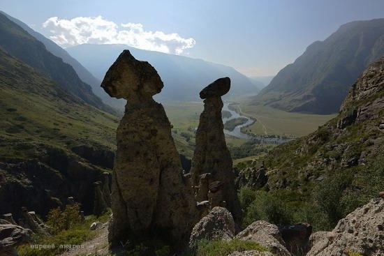 Stone mushrooms of Akkurum, Altai Republic, Russia, photo 4