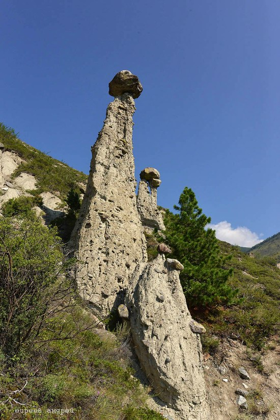Stone mushrooms of Akkurum, Altai Republic, Russia, photo 5