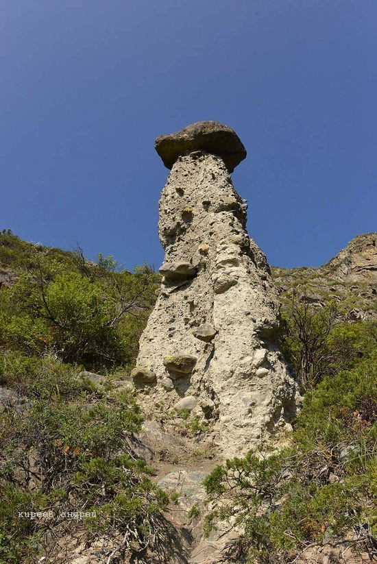 Stone mushrooms of Akkurum, Altai Republic, Russia, photo 9