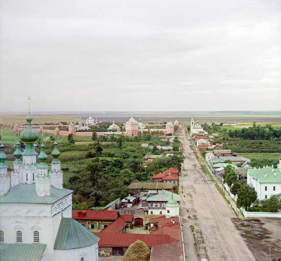 Suzdal, Russia in color in 1912, photo 10