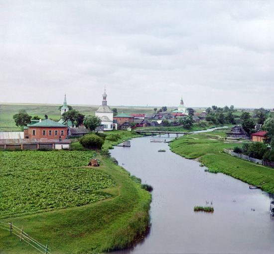 Suzdal, Russia in color in 1912, photo 11
