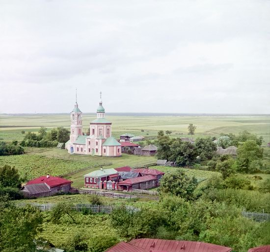 Suzdal, Russia in color in 1912, photo 12