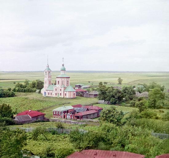 Suzdal, Russia in color in 1912, photo 12