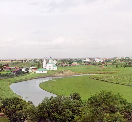 Suzdal, Russia in color in 1912, photo 13