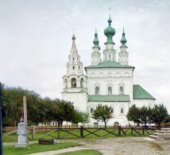 Suzdal, Russia in color in 1912, photo 14